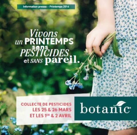 Vivons un printemps sans pesticides