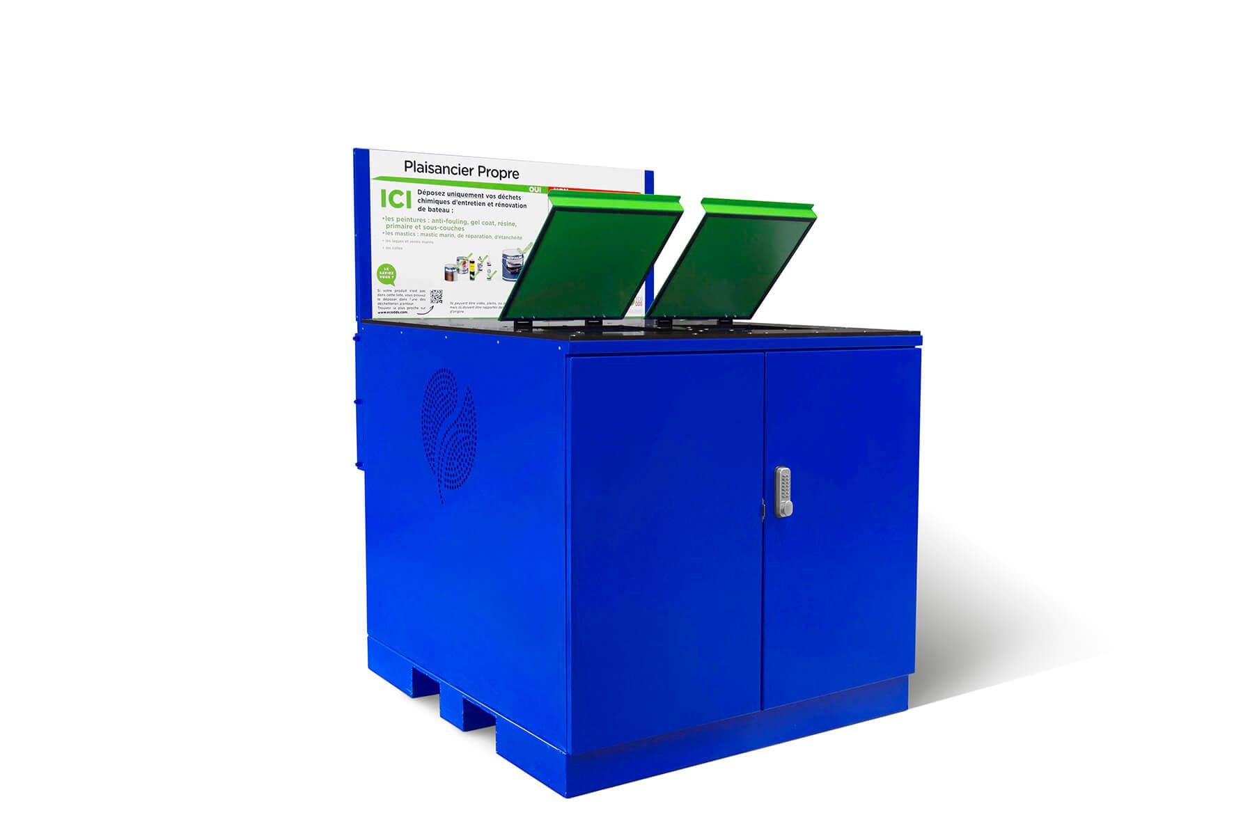 EcoDDS lance REKUPO Plaisance, premier point de collecte des déchets chimiques des plaisanciers