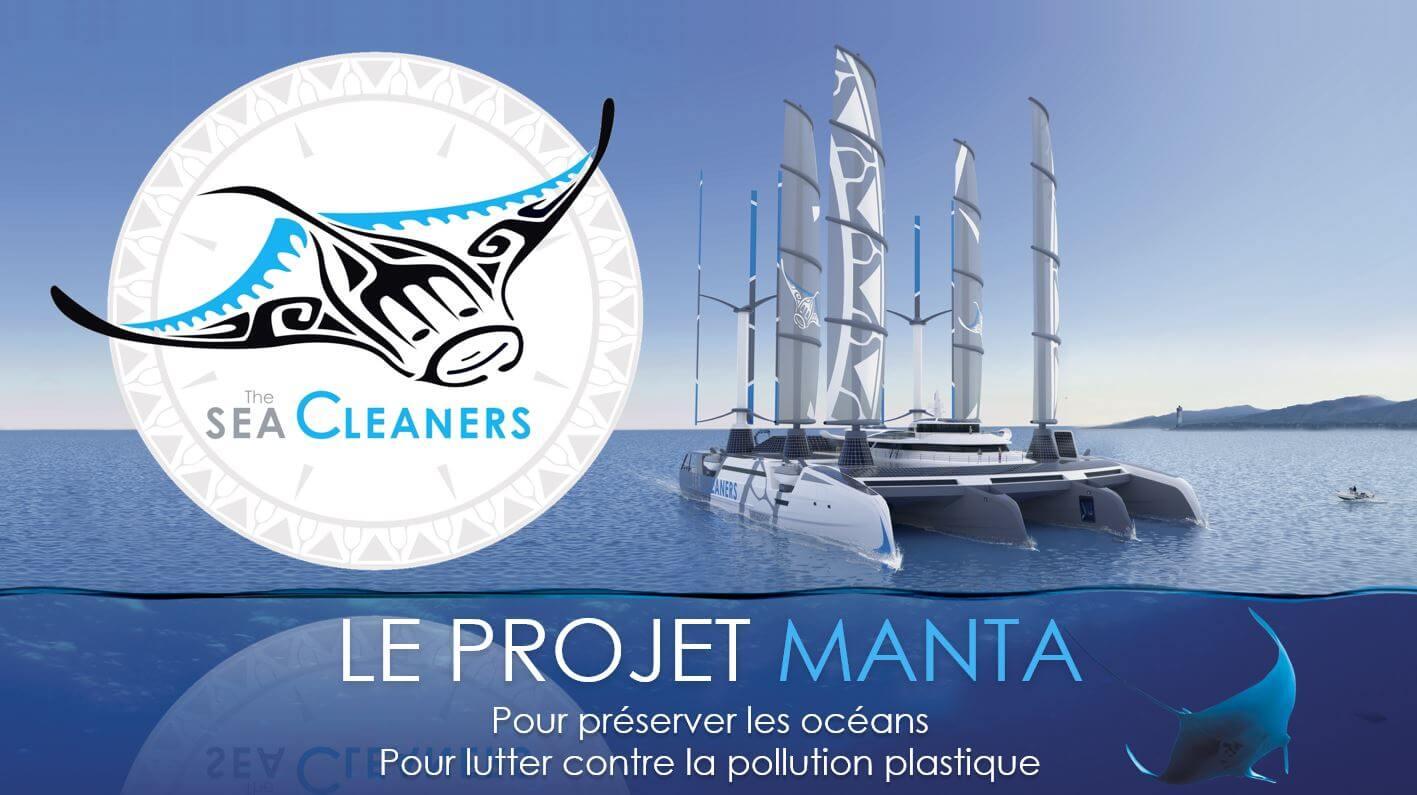EcoDDS, mécène du projet Manta pour lutter contre la pollution plastique océanique
