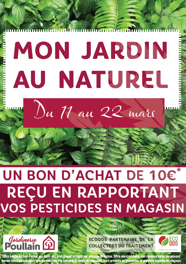 EcoDDS collecte printemps Poullain affiche